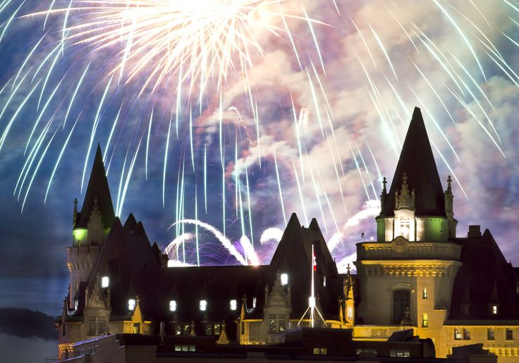 """Fairmont Fireworks -- This is my submission to the Fairmont Hotels and Resorts """"everyone's An Original"""" photo contest.  Wish me luck! Michel Loiselle"""