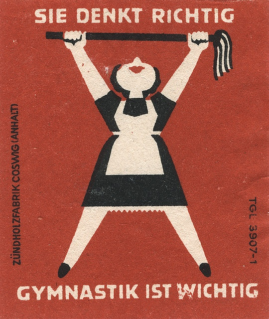 east german matchbox