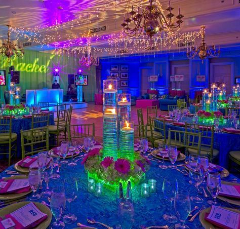 neon sweet 16 party | 16 neon and fun Sweet 16 Neon Party Ideas