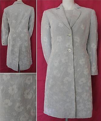 Laura Ashley ladies dress suit in light blue size coat size 8/dress size 10 | eBay