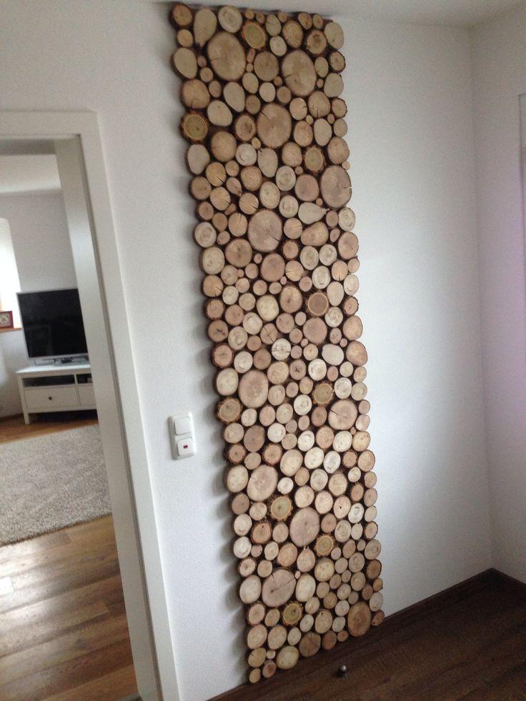 #wood #garderobe #wooden #deko # natürlich #diy    – Selbst gemacht