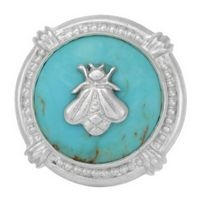 Slane. Turquoise and bee ring