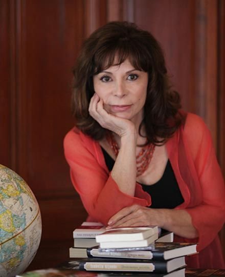 """""""I can promise you that women working together – linked, informed and educated – can bring peace and prosperity to this forsaken planet."""" Isabel Allende"""