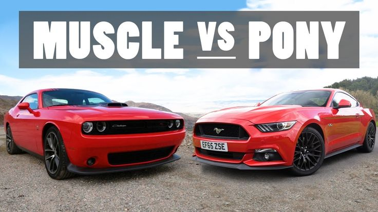 Can You Still Tell The Differences Between Muscle And Pony Cars? - https://www.musclecarfan.com/can-still-tell-differences-muscle-pony-cars/