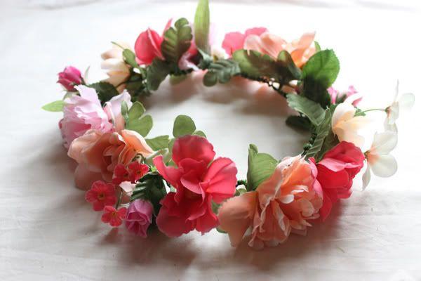 Syl and Sam: 116: tutorial - diy flower crown