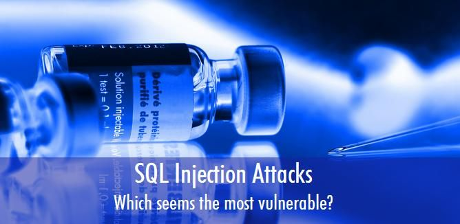 Which of the following are most vulnerable to injection attacks?  A. Session IDs B. Registry keys C. Regular expressions  D. SQL queries based on user input   #sqlinjections #websitesecurity #datasecurity