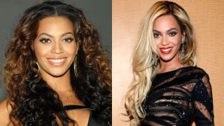 Chic Blonde Ambition; the best celebrities who pull off  platinum perfectly:Beyonce