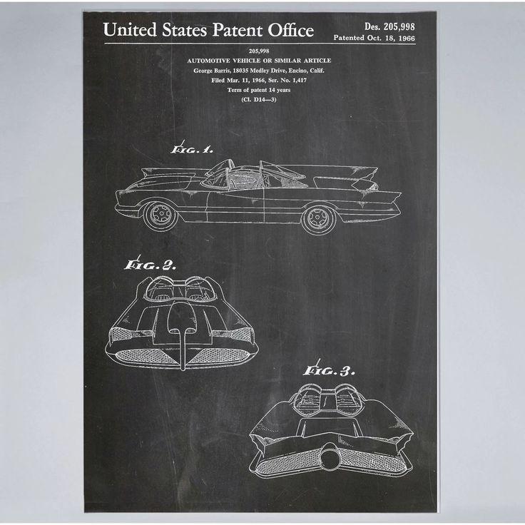 Batmobile - Print