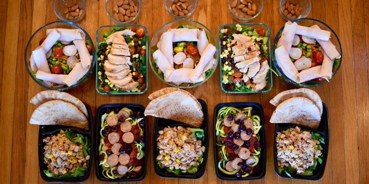 No-Cook Meal Prep for the 1,800–2,100 Calorie Level | BeachbodyBlog.com
