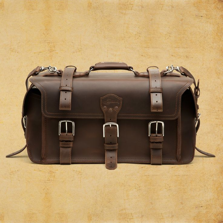 Side Pocket Duffel - Leather Duffel Bag | Saddleback Leather Co.