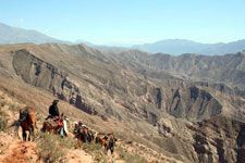 Horseback riding in the Andes... Love it!