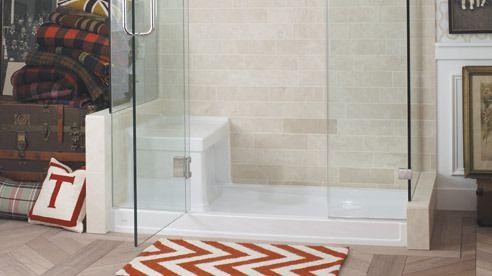 Kohler shower stalls bases showering bathroom - Bathroom partition installers near me ...