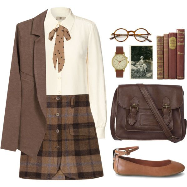Old Time Memories by sweetpastelady on Polyvore featuring moda, Orla Kiely, Yumi, Opening Ceremony, Luxury Rebel, Fat Face, Void, Tom Ford, American Vintage and vintage