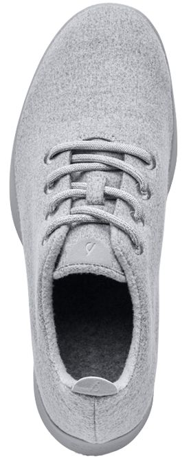 THE WOOL RUNNER. A remarkable shoe that's soft, lightweight, breathable, and fits your every move.   Men's size 13 (US)   allbirds.com, $95