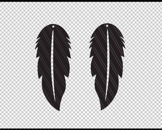 Earrings svg, Feather earrings svg, Jewelry svg, leather ...