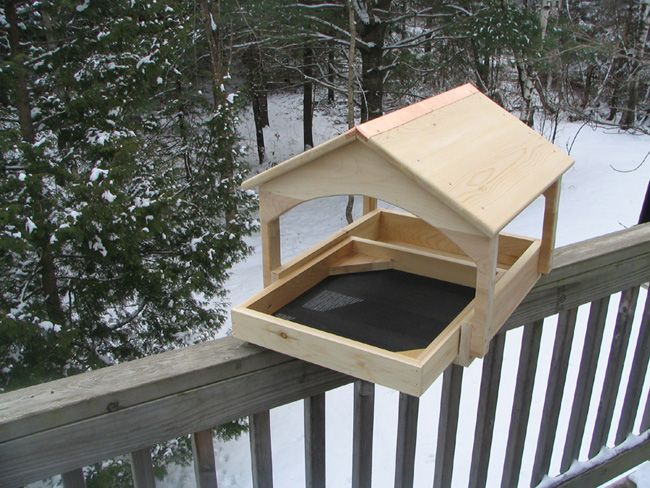 17 best images about platform bird feeders covered on for Bird feeder design ideas