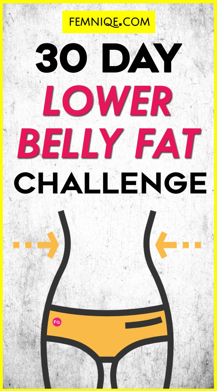 30 Day Lower Belly Fat Challenge (Workout Plan) - Want to lose lower belly fat? Here a 30 day challenge that will help you get a sexy flat sculpted lower belly. This belly fat plan combines both cardio and targeted exercises.