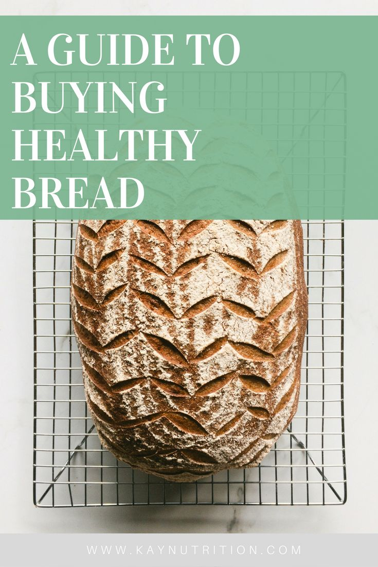 With clever marketing gimmicks and fancy buzzwords it can be difficult to know what to look for, so here is a simple 'how to' guide to buying healthy bread.