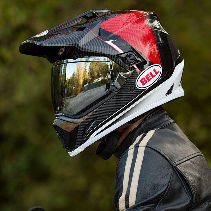 Mx 9 Adventure Mips Bell Helmets Helmet Black And Red Dual