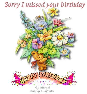 Belated Birthday Wishes Images Google Search Birthday