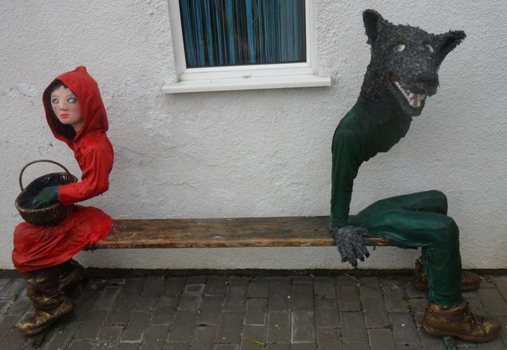 Red Riding Hood Bench
