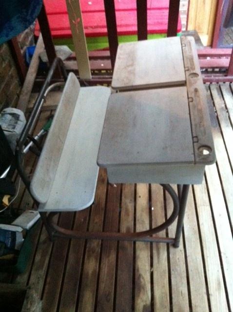 School desk to restore