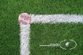 Textures Angle rugby field texture 18713 | Textures - NATURE ELEMENTS - VEGETATION - Green grass | Sketchuptexture