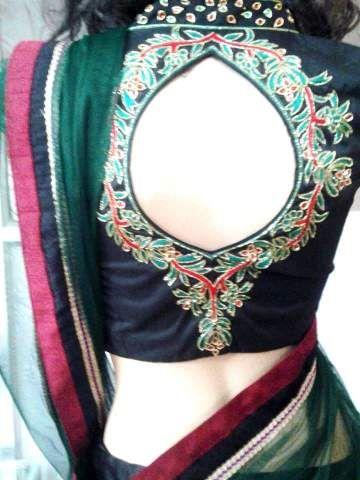 collared designer blouse by shamsherandsons at 0
