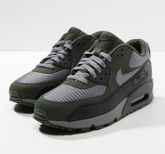 Nike Sportswear AIR MAX 90 ESSENTIAL Baskets basses dark gray/oliv