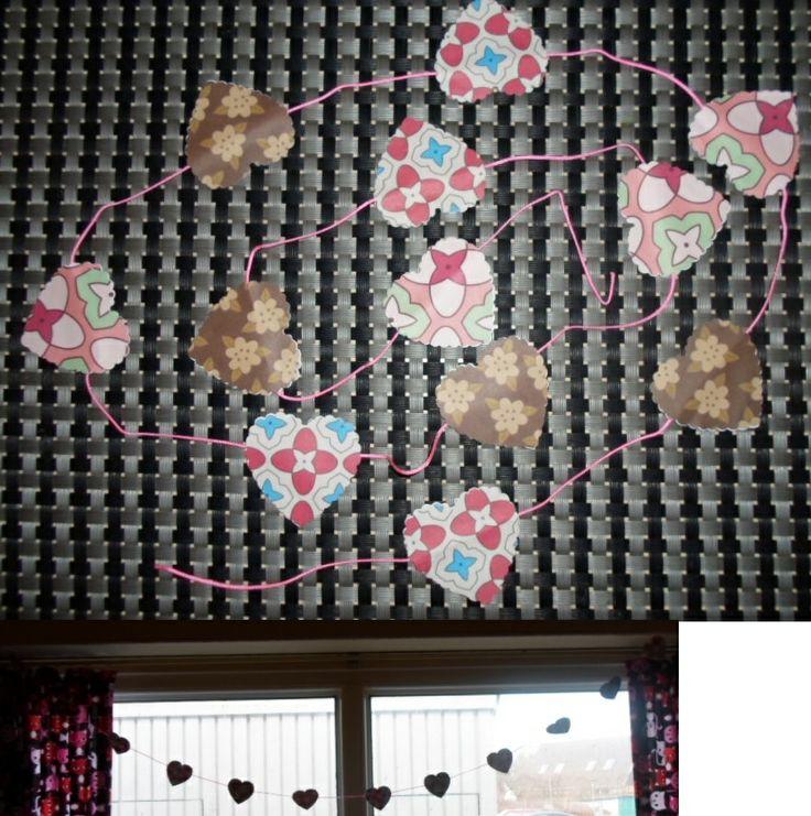 Chain of hearts.