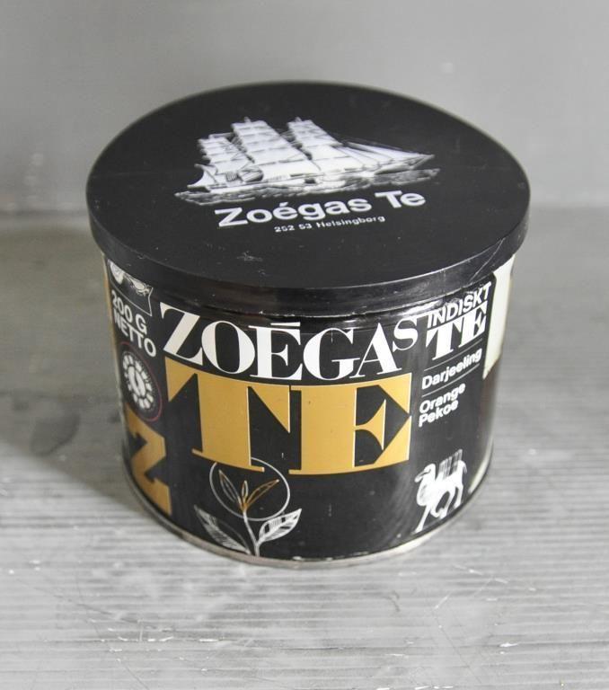 Teburk Zoegas te med lock