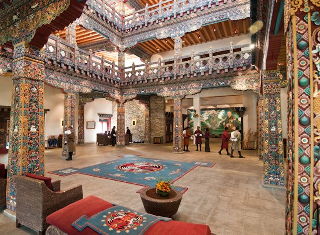 17 best images about bhutan paro zhiwa ling hotel on for Design hotel 6f