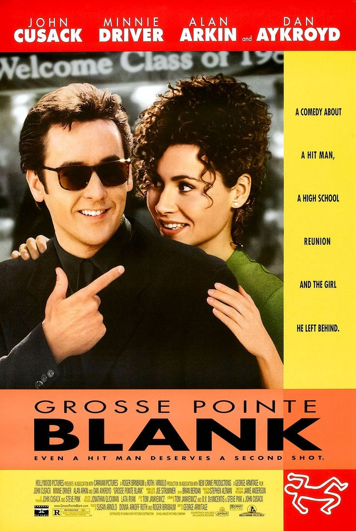 """Grosse Pointe Blank"" > 1997 > Directed by: George Armitage > Comedy / Crime / Black Comedy / Comedy Thriller / Reunion Films / Romantic Comedy"