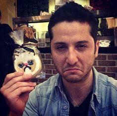 Aaawww~so cute pouty lip! Alejandro manzano
