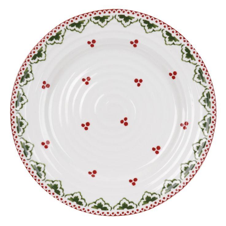 Set Of Fours Side Plates - China - Christmas