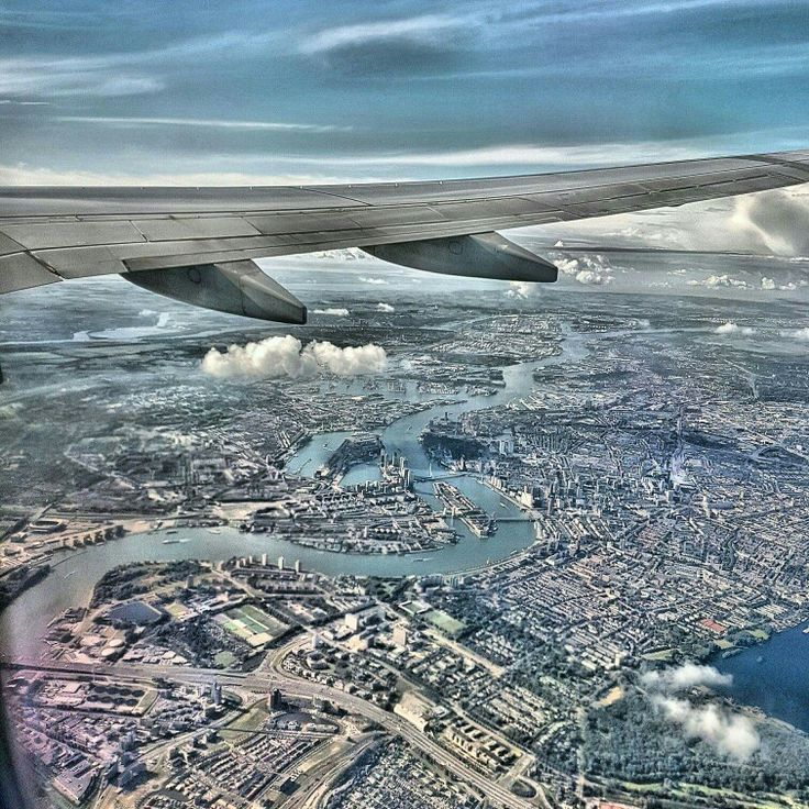 Rotterdam the Netherlands. Aerial view