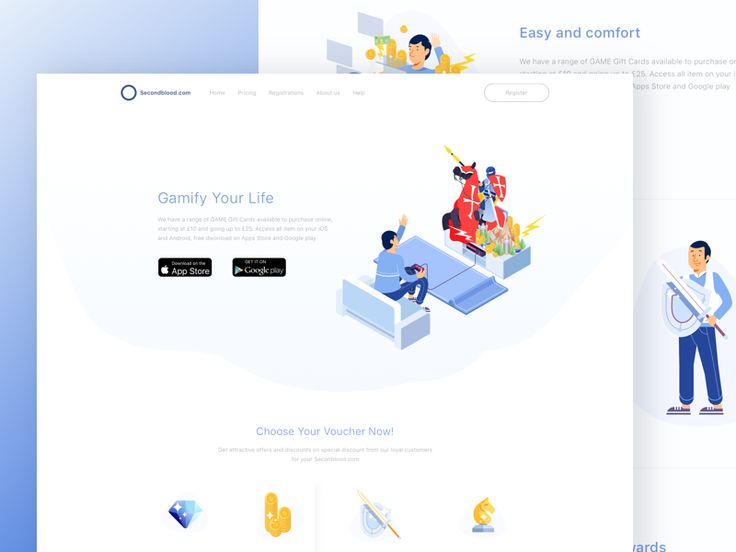 Landing Page Inspiration — December 2016 – Collect UI Design, UI / UX Inspiration Blog – Medium