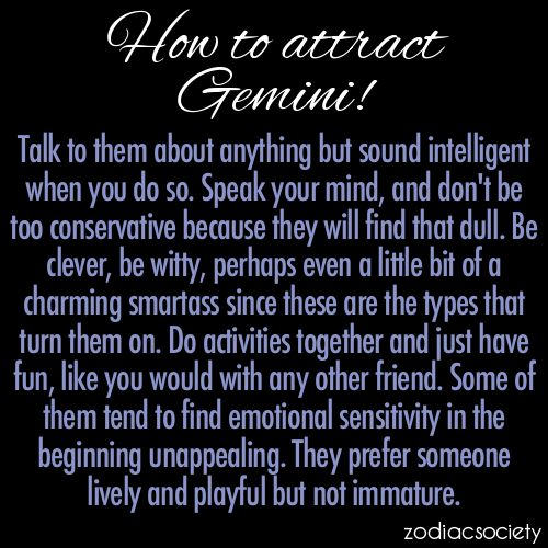 What to know when dating a gemini woman
