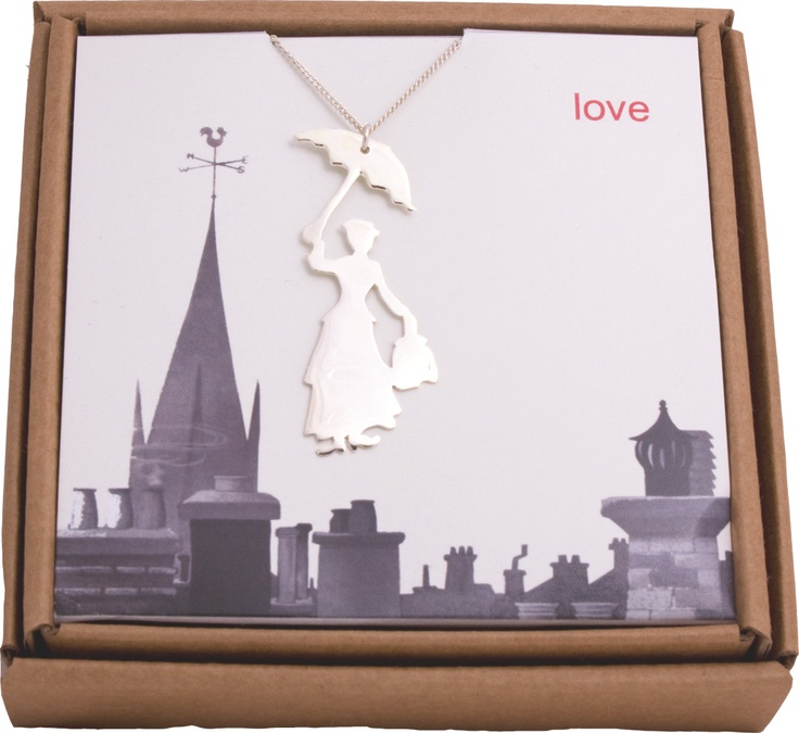 Mary Poppins necklace ... so adorable would be perfect for my practically perfect daughter:)