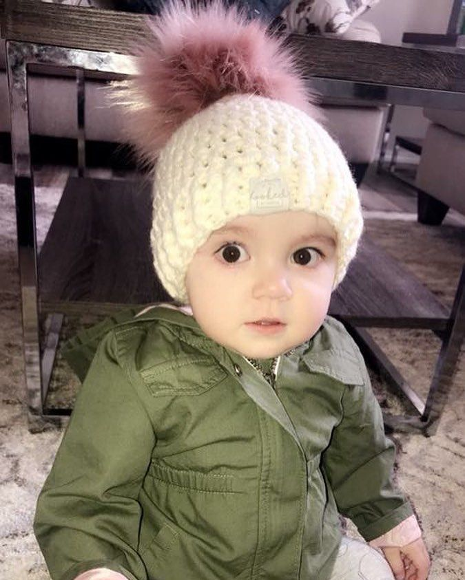 Melondipity Twinkle Little Star Baby Boy Hat Handmade Crochet Beanie with Star