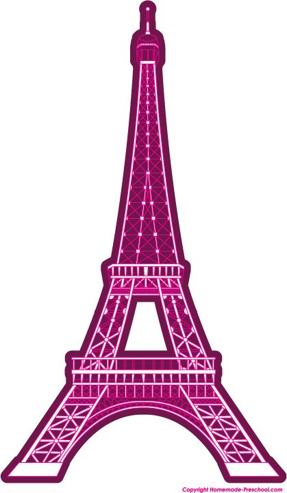 Free Eiffel Tower clipart, ready for PERSONAL and ...