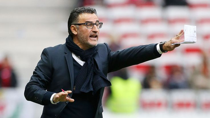 Christophe Galtier on Crystal Palace manager shortlist - sources