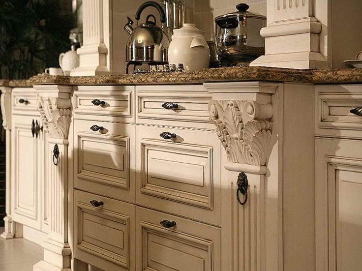 Painted Kitchen Cabinets Are Also Popular Now A Days. Painted Cabinets Add  Color To The