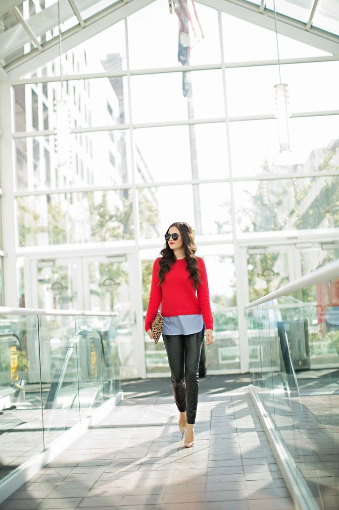 red-jcrew-sweater