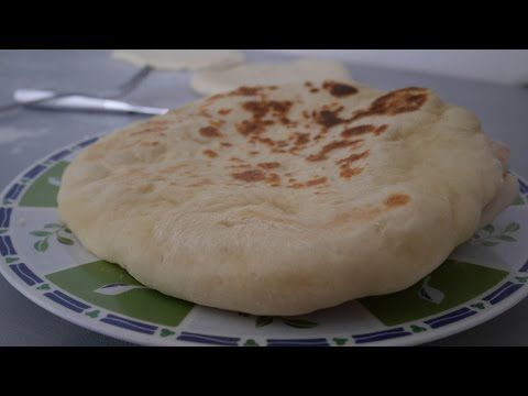 Recette cheese naan Thermomix - YouTube