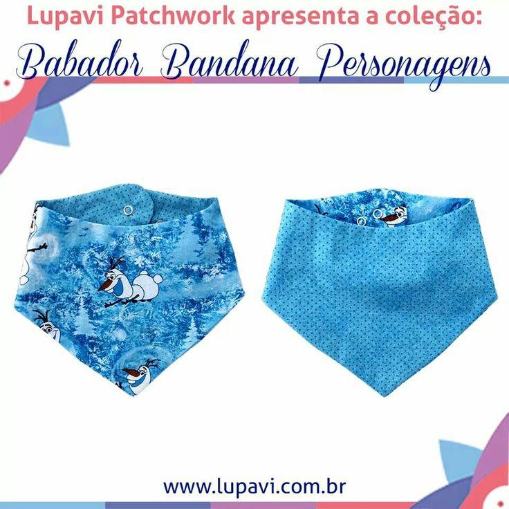 Nova Coleção Babador Bandana Personagens - Frozen Olaf Babadores lindos e fashion para o seu bebê viver uma aventura divertida ⛄❄  www.lupavi.com.br/babador-bandana-personagens  Babador Bandana Personagens, R$22 WhatsApp (21)96782-5745  www.lupavi.com.br  #LupaviPatchwork #artesanato #customizado #personalizado #patchwork #infantil #bebê #BabadorBandana #DuplaFace #Babador #Bandana #estampas #personagen #frozen #olaf #BonecoDeNeve #BrincarNaNeve #Disney #novidades #CompreOnline #Lupavi