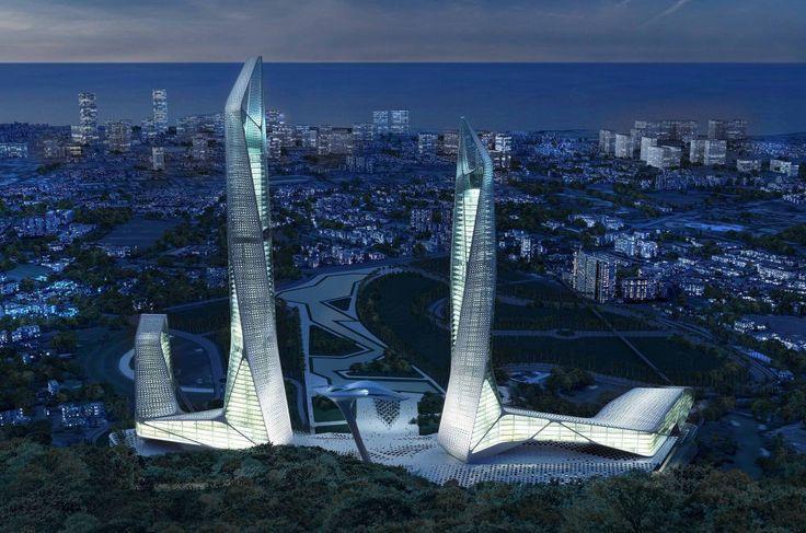 """Малайзия - На острове Пинанг уже началось строительство здания городского центра """"Penang"""". Проект комплекса Penang Global CITY CENTER формирует новый архитектурный облик острова, становясь новой точкой отсчета в формировании будущей градостроительной среды. Здание будет выполнять роль культурного-делового центра городской жизни. Стоимость проекта 7,3 миллиарда долларов. Реализация проекта займет около 15 лет и создаст более 40000 рабочих мес"""