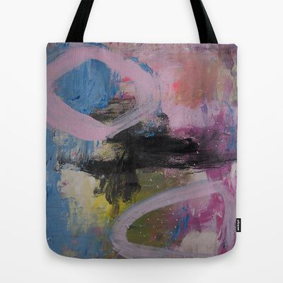 colors of the week - sunday Tote Bag by Helle Pollas - $22.00