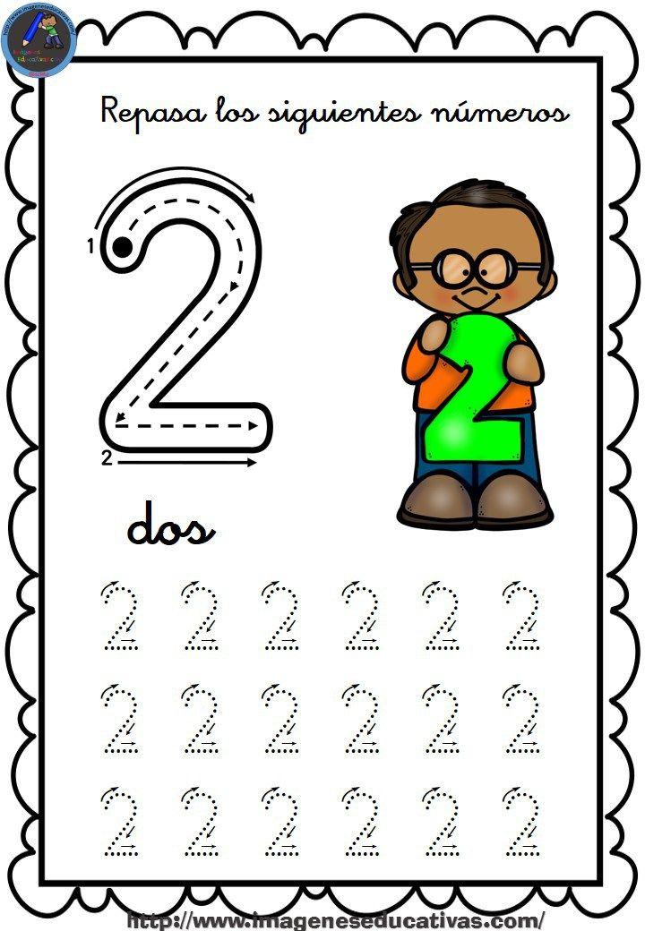 Completo cuaderno para repasar el trazo, números del 1 al 30 Para descargar las imágenes pincha en la imagen que quieres descargar, se abrirá en una nueva ventana, pincha de nuevo en la imagen...