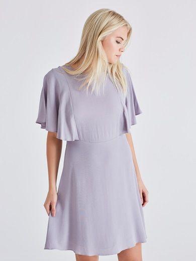Dress #purple #pastel #dress #fashion #cute #bikbok